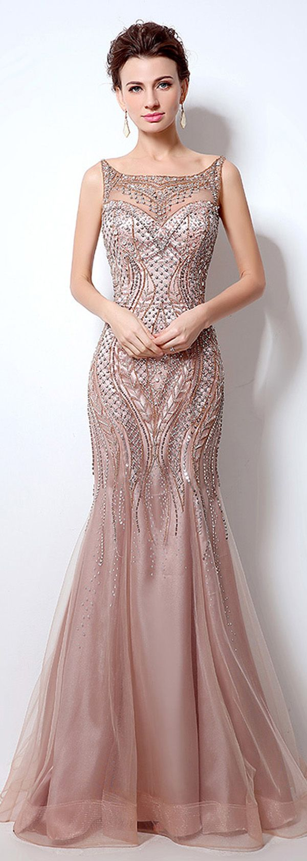 17  ideas about Mermaid Evening Gown on Pinterest - Long dresses ...