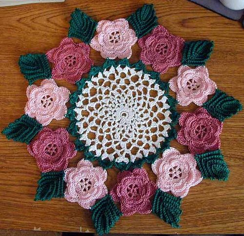Ravelry: Rose Doily #804 by American Thread Company