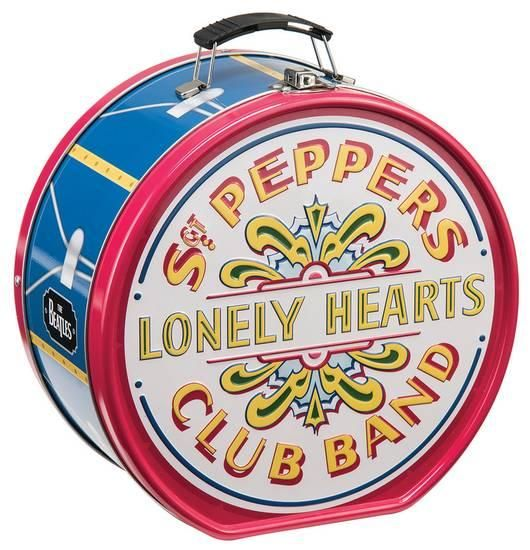 The Beatles Sgt. Pepper's Drum Shaped Tin Lunch Box Lunch Box at AllPosters.com