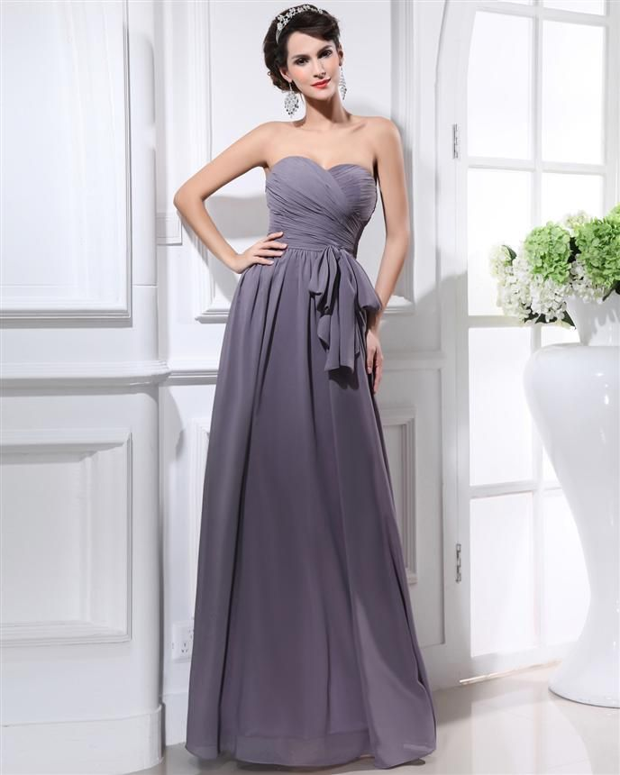 13 best Grey Bridesmaid Dresses images on Pinterest | Bridal gowns ...