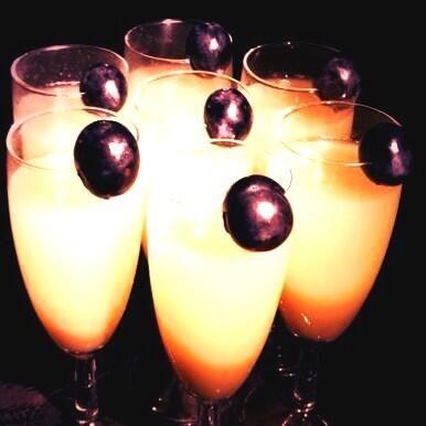 #cocktails #orange #purple #drinks