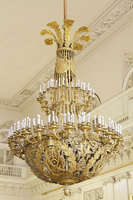 The Field Marshals' Hall, Winter Palace, St Petersburg, Russia