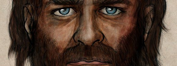 Retrato-robot de cazadores-recolectores europeos de hace 7.000 años, eran de piel morena y ojos azules