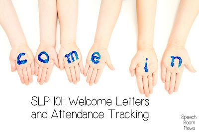 Speechie Freebies: SLP Attendance Freebies! Pinned by SOS Inc. Resources. Follow all our boards at pinterest.com/sostherapy for therapy resources.