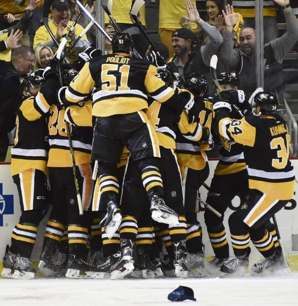 May 4, 2016 — Eastern Conference playoffs: Penguins 3, Capitals 2, OT (Photo: Chaz Palla     Tribune-Review)