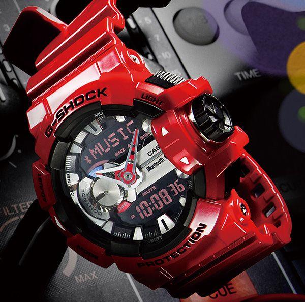 Casio G-Shock G'MIX GBA-400 Watch - Bluetooth Link with Smartphone Control - FreshnessMag.com