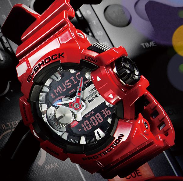 Casio G-Shock G'MIX GBA-400 Watch - Bluetooth Link with Smartphone Control - FreshnessMag.com