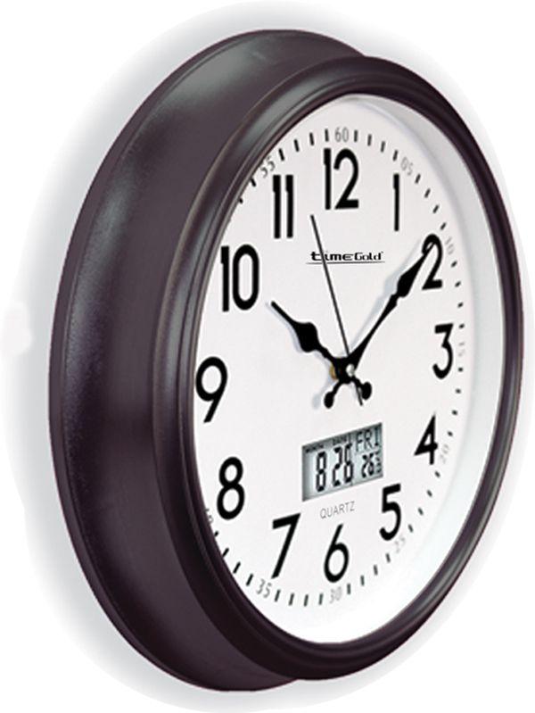 Otel-Turizm Koyu Renk Duvar Saati  Ürün Bilgisi ;  Ürün maddesi : Plastik gövde ve Gerçek cam kullanılmıştır Saat çapı : 40 cm Otel-Turizm Koyu Renk Duvar Saati Mekanizması : Akar saniye, sessiz çalışır Garanti : Saat motoro 5 yıl garantili Kullanım ömrü uzundur Kalem pil ile çalışmakta Otel ve turizm yerleri için oldukça uygundur Ürün fotoğrafta görüldüğü gibi olup orjinal paketindedir
