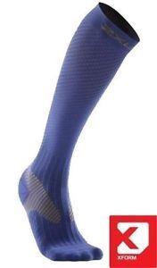 8be8acd491 2XU-Men-039-s-Xform-Elite-Compression-Sock-Medium-Blue | Compression ...
