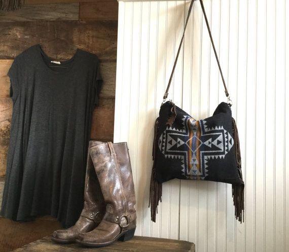 SW Crossbody Bag Pendleton Wool