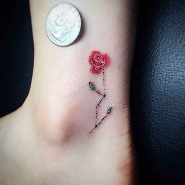 These 11 Floral Tattoos Are the Definition of Pretty via Brit + Co.