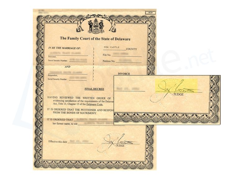 Best State Of Delaware Sample Apostille Images On