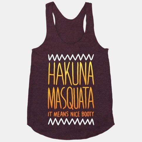 Hakuna Masquata | HUMAN | T-Shirts, Tanks, Sweatshirts and Hoodies, MEDIUM