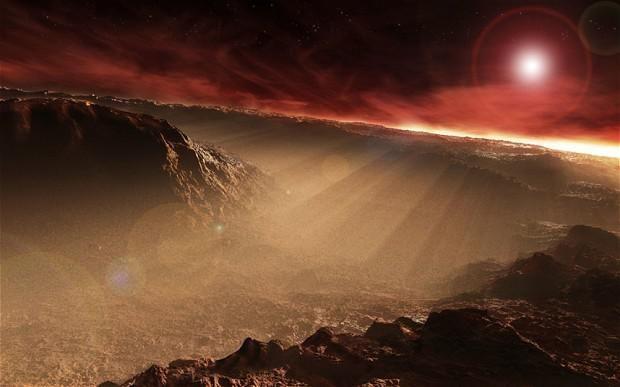 Relatórios científicos sugerem a existência de crescente evidência de que a vida na Terra possa ter começado em Marte, e vindo para cá num meteorito.