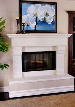Raised Fireplace Hearth