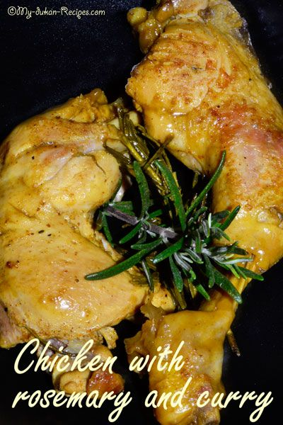 Chicken with rosemary and curry  | DUKAN DIET RECIPES