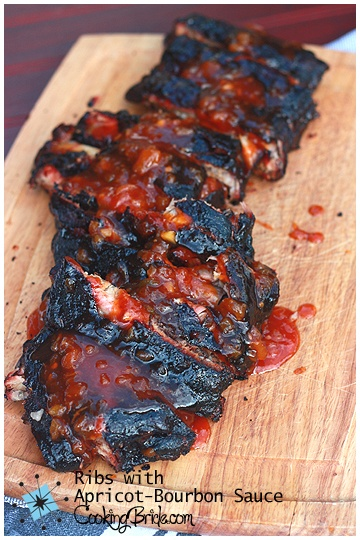 Ribs with Apricot Bourbon Sauce | Recipe | Bourbon Sauce, Ribs and ...