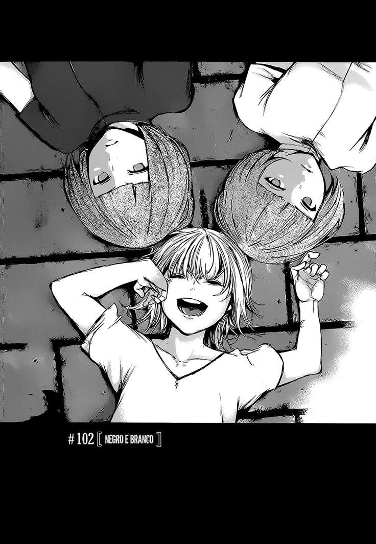 Kurona,Nashiro e Rei-chan(Juuzou Suzuya)