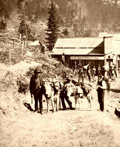 Deadwood, South Dakota from the south, 1876. www.robertsharpassociates.com - Creative Solutions by Sharp Minds.