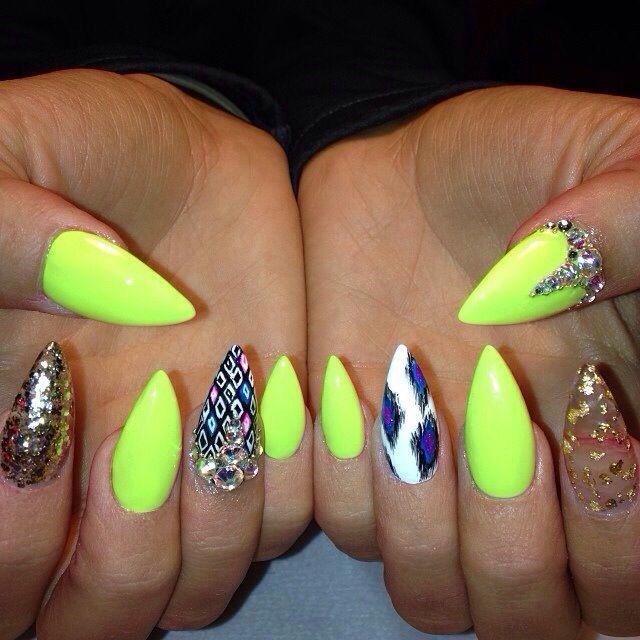 Mint green nails tumblr