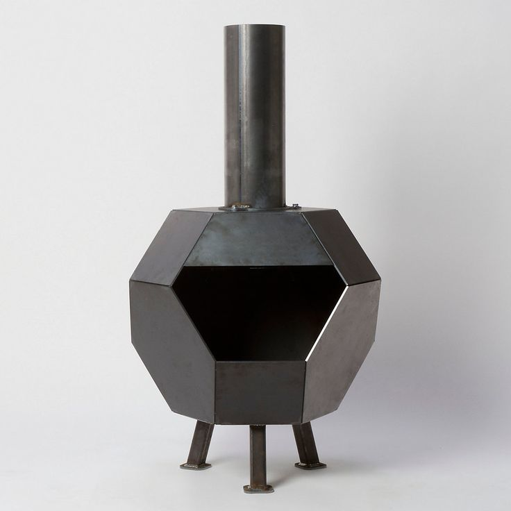 Terrain Prism Steel Chiminea #shopterrain