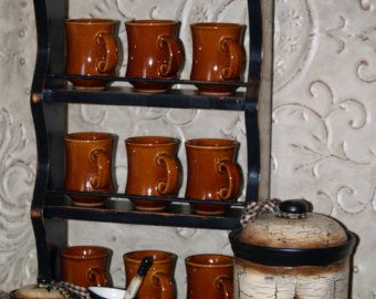17 Best Images About Coffee Mug Shelves On Pinterest