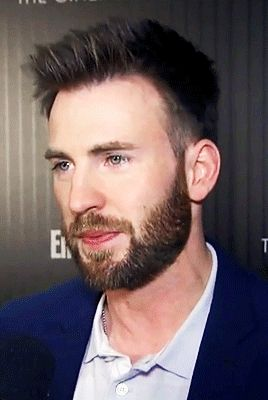 chris evans and his magnificent beard