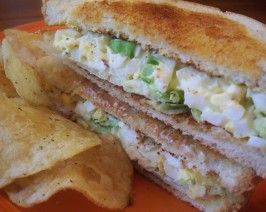 Egg Salad Sandwich. Photo by *Parsley*