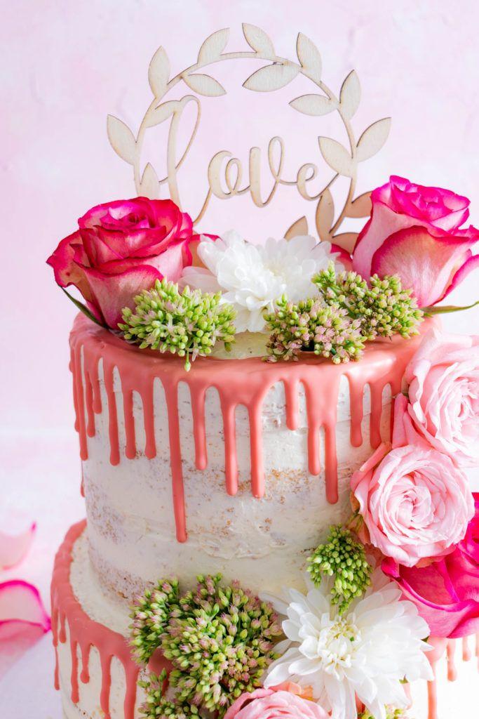 Naked Cake Hochzeitstorte Mit Zwei Fullungen Rezept Torten Rezepte