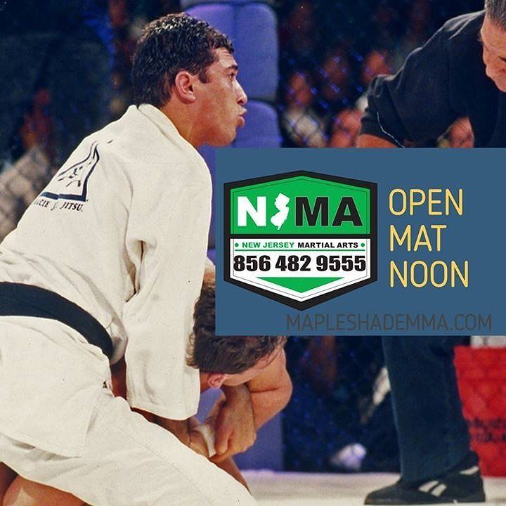 Today's holiday schedule. All levels open mat at noon. #njma #teamnjma #openmat #ufc #roycegracie #kenshamrock #jiujitsu #grappling #rnc #blockchain