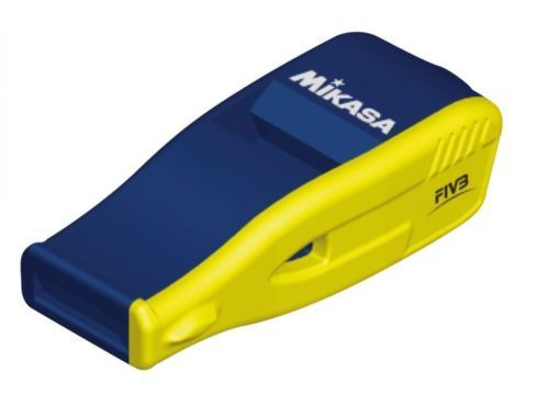 NEW Mikasa whistle Volleyball Referee navy yellow JAPAN Free Shipping