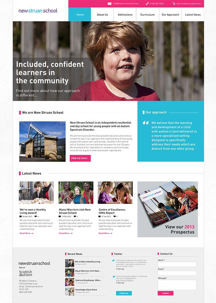 New Struan School Website