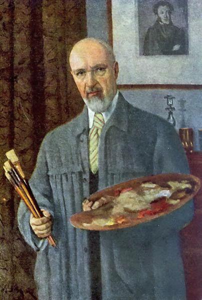 Константин Юон. «Автопортрет». 1953 г.