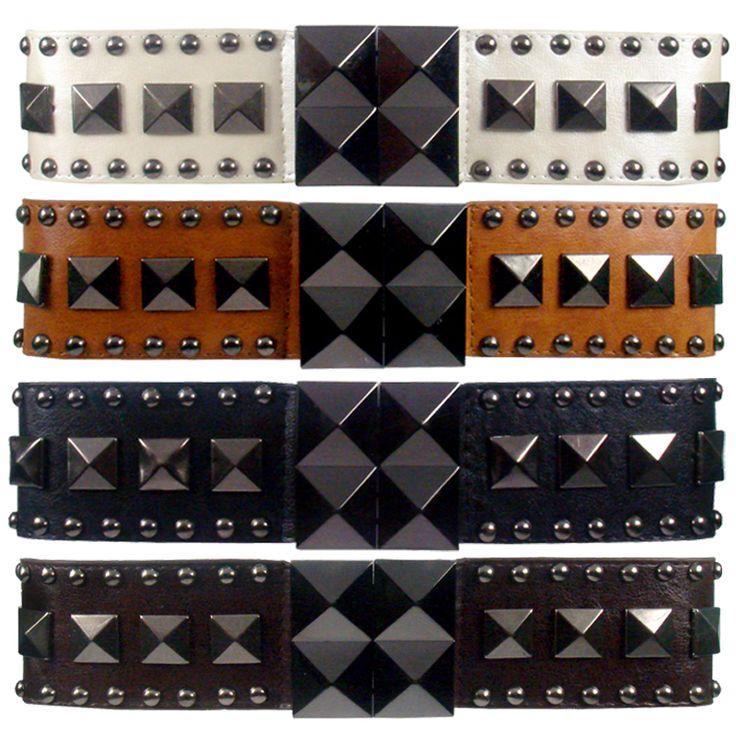 AM-647 Studded waist belts.