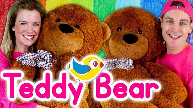 Sing Along - Teddy Bear Song - with lyrics - Pinterest