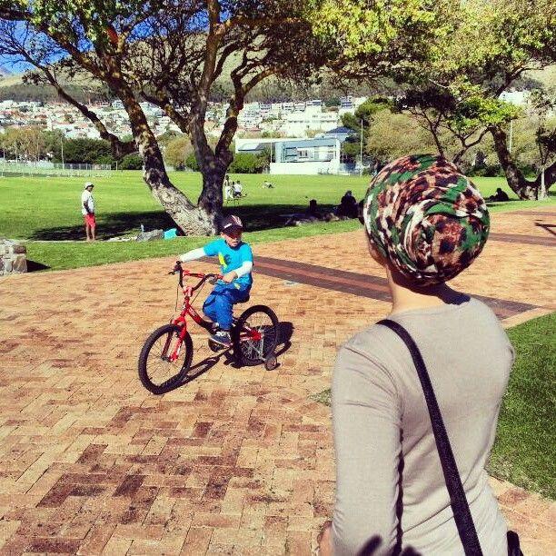 Bike rides in the park #GreenPointPark #CapeTown
