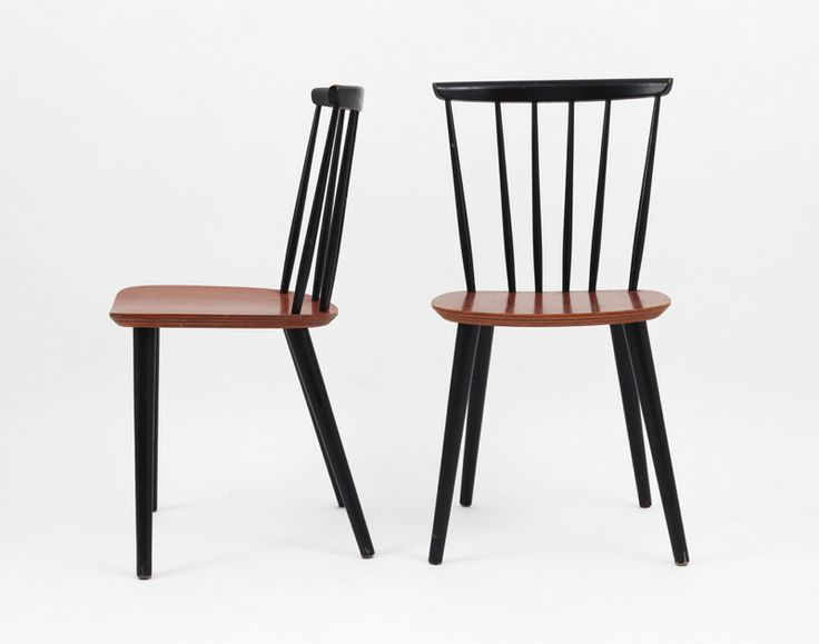 Teak Farstrup Shaker Chairs Pair Of Original Vintage Shaker Chairs Designed  By Farstrup In Denmark.