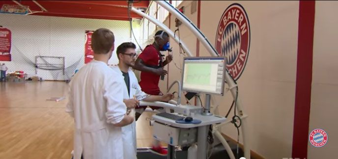 Season's first performance evaluation tests for German football champions FC Bayern