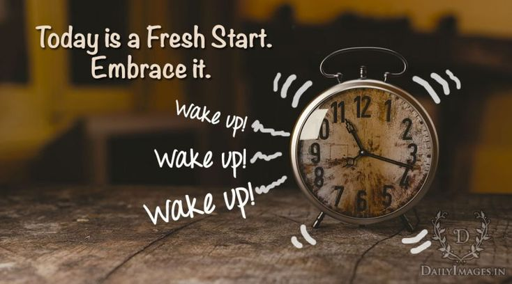 Good Morning: Today is a Fresh Start #goodmorning #gm #quotes