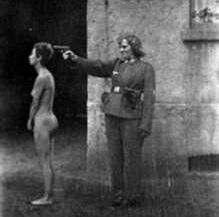 Execution of Jewish woman