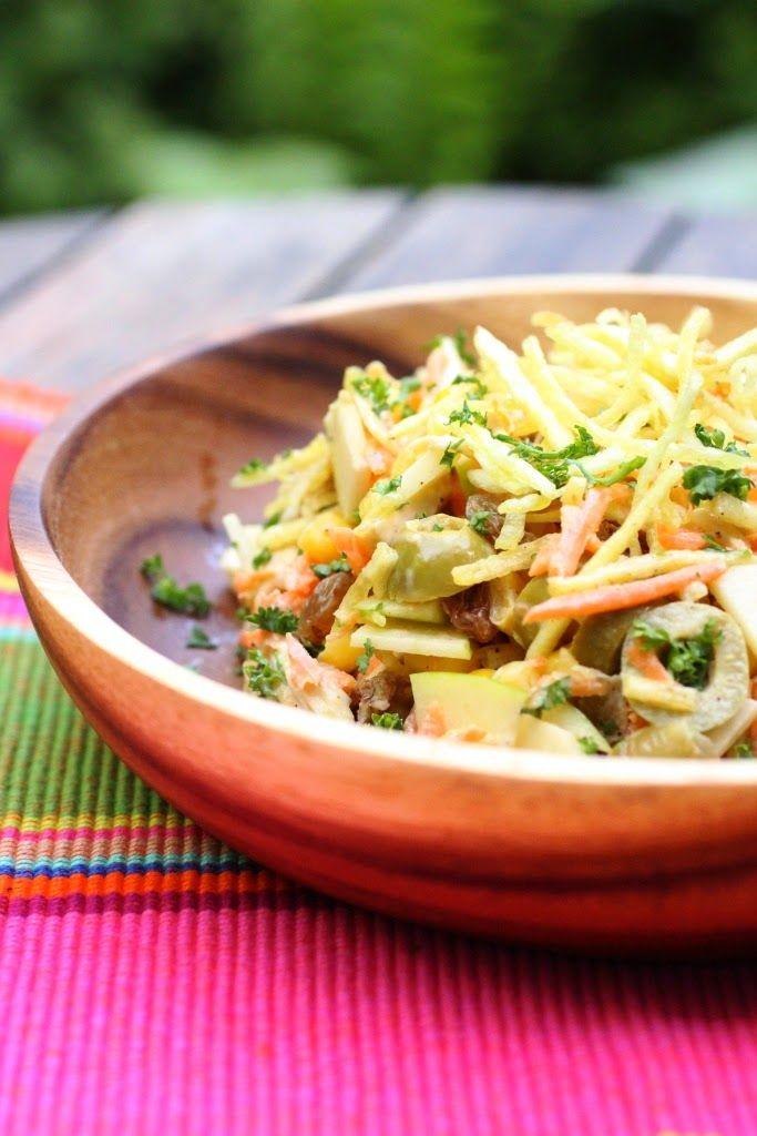 Salade de poulet comme au Brésil : salpiçao de frango