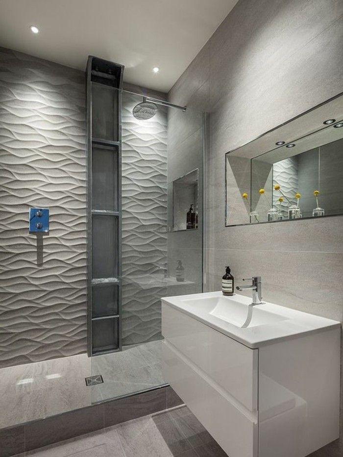 Taupe Badezimmer Fliesen Grau Beige