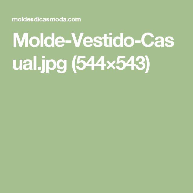 Molde-Vestido-Casual.jpg (544×543)