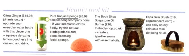 Happy to announce that our #Konjacsponges have been featured in Health and Fitness magazine! #natural #skincare
