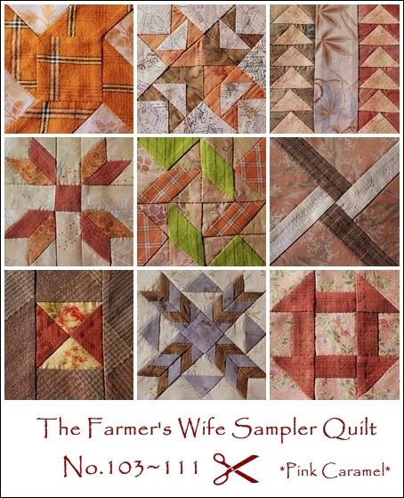The Farmer's Wife Sampler Quilt twenty-two