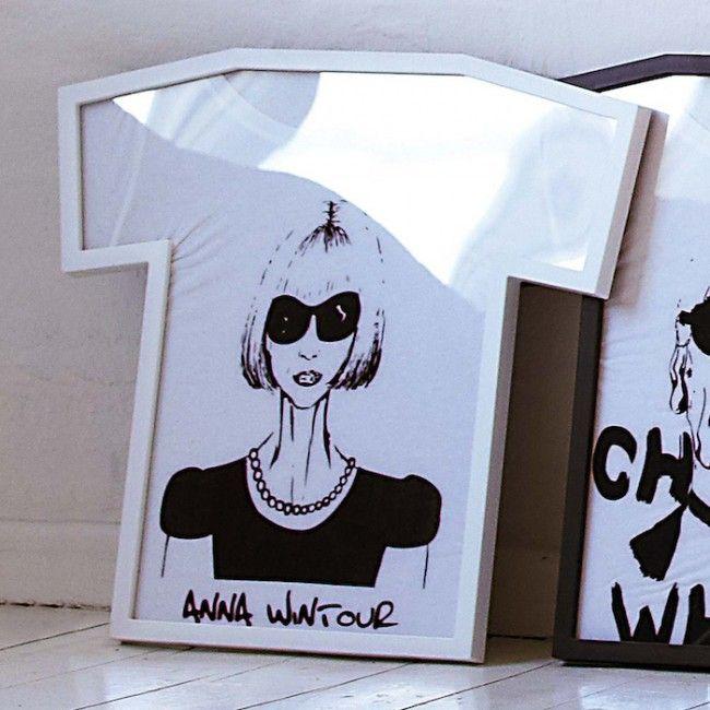 T-Frame. Really cute idea for a closet or a bathroom