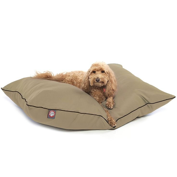 Pacific Towers Medium Round Indoor Outdoor Pet Dog Bed With Removable Washable Cover By Majestic Pet Products B00OJRKYVK