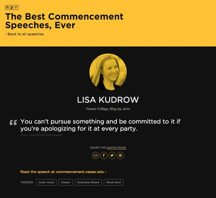 The 25+ best Best commencement speeches ideas on Pinterest - valedictorian speech examples