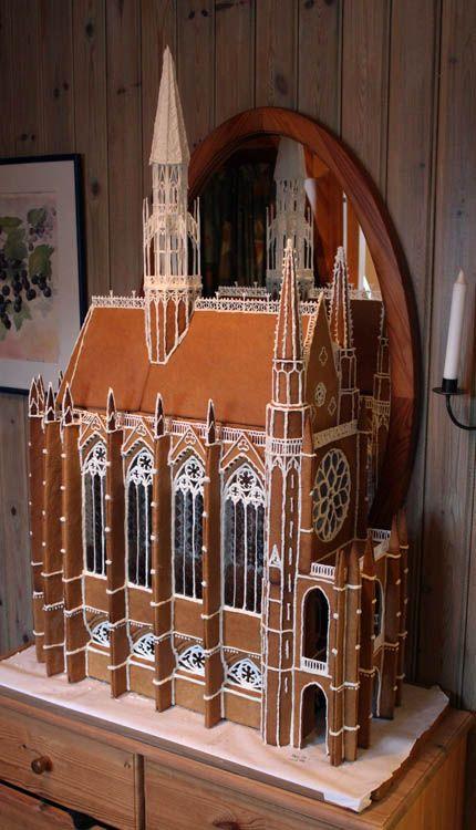 Pepparkakshusbygge - Saint Chapelle