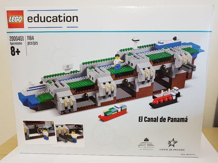 Lego Education-2000451 - Panamakanaal  Ik ben het aanbieden van: Lego 2000451 onderwijs PanamakanaalDe set is oorspronkelijk verzegeld.Lego Education 2000451 - het Panamakanaal Kanal SetNieuw in originele verpakkingDe set is geïmporteerd vanuit Panama en waarde goedmet inbegrip van invoer rechten en 19% BTWalle rechten betaald.Echter werd het niet geopend door douane zoals sommige andere sets het nog oorspronkelijk met Lego zegels verzegeld.Helaas kreeg de verpakking een paar hobbels tijdens…